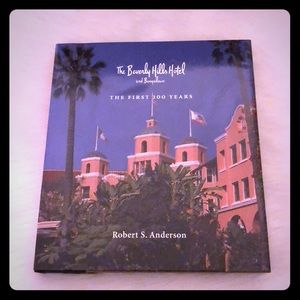 Beverly Hills Hotel Table decor book